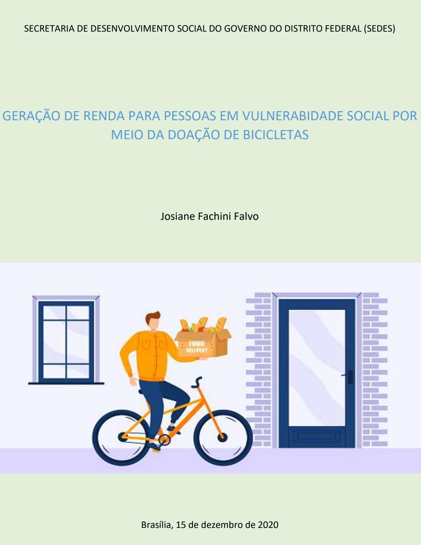 Projeto de doação de bicicletas - Josiane Falvo